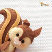 esquilo-princesa-sofia-feltro-molde