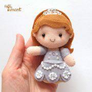 princesa-sofia-molde-pocket-feltro-timart