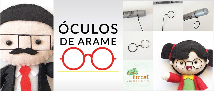 Óculos de arame para Pockets