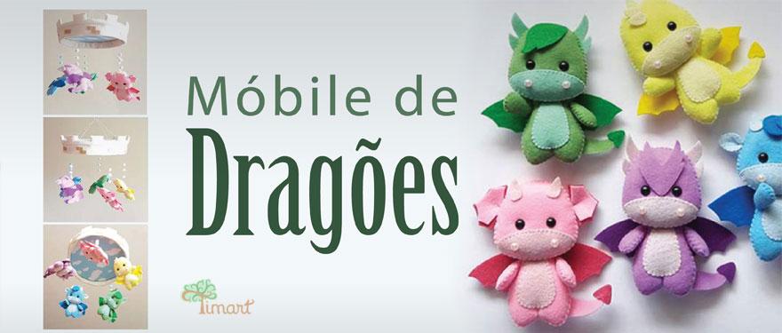 Móbile de Dragões