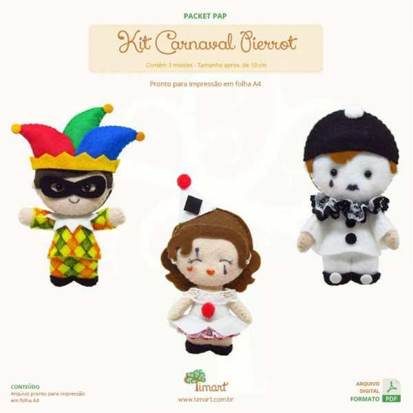 packet-pap-kit-carnaval-pierrot