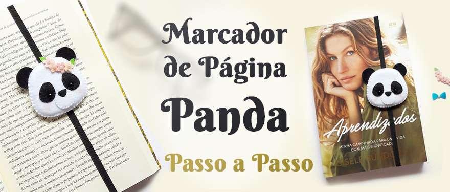 Marcador de página Panda – Passo-a-passo