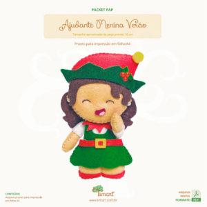 ajudante-menina-verao-natal-packet-pap