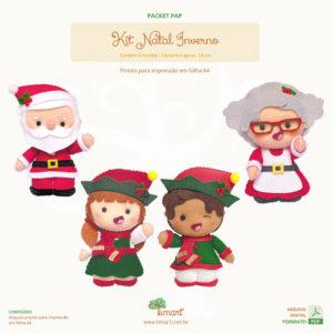 Apostila Digital Kit Natal Inverno