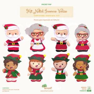 Apostila Digital Kit Natal Inverno Verão