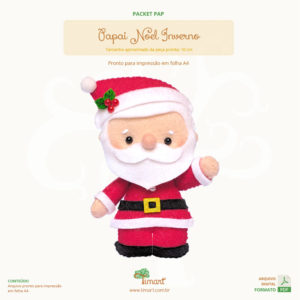 Apostila Digital Papai Noel Inverno