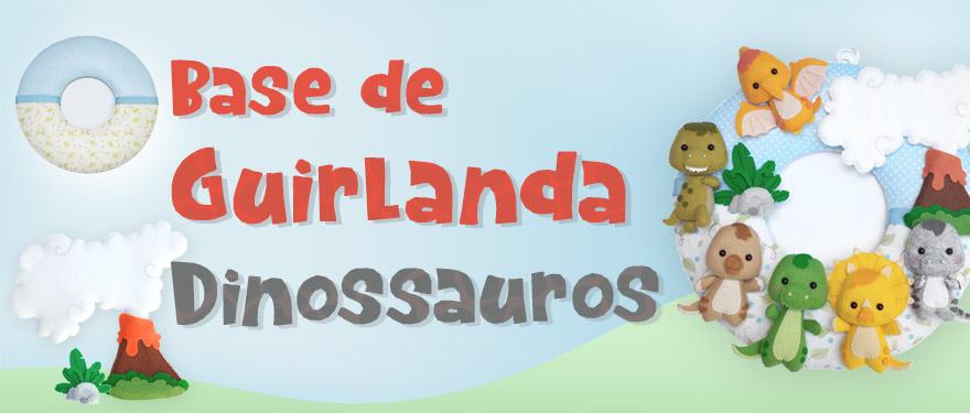 Base de Guirlanda Dinossauros