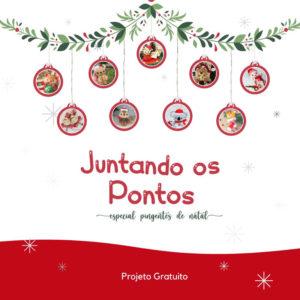Projeto Gratuito Juntando os Pontos – Pingentes de Natal