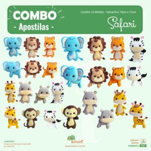 Apostila Digital – Combo Safari 10 e 15 cm